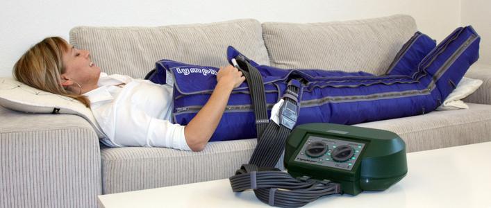 Лимфодренаж для ног в домашних условиях